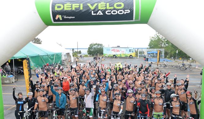 Une 4e édition du Défi Vélo La Coop qui passe à l'histoire!
