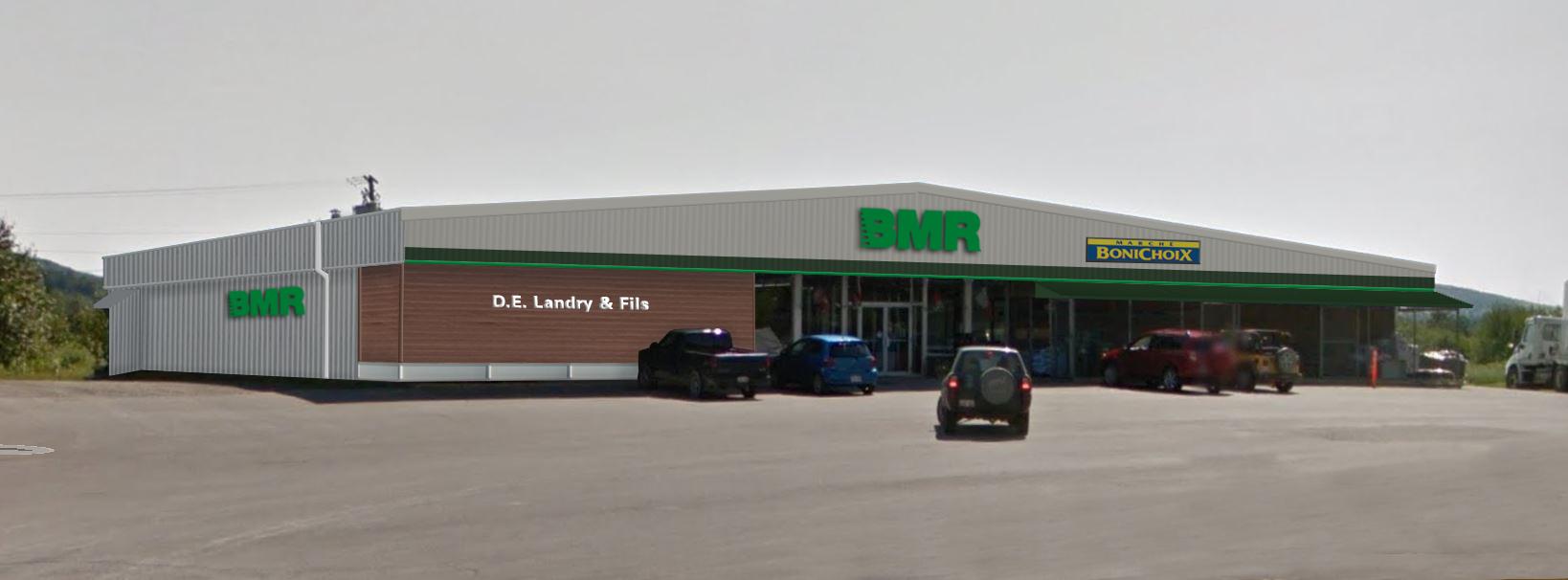 Un magasin Rona change son enseigne pour BMR