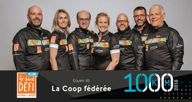 Grand défi Pierre Lavoie, un effort d'équipe qui rapporte