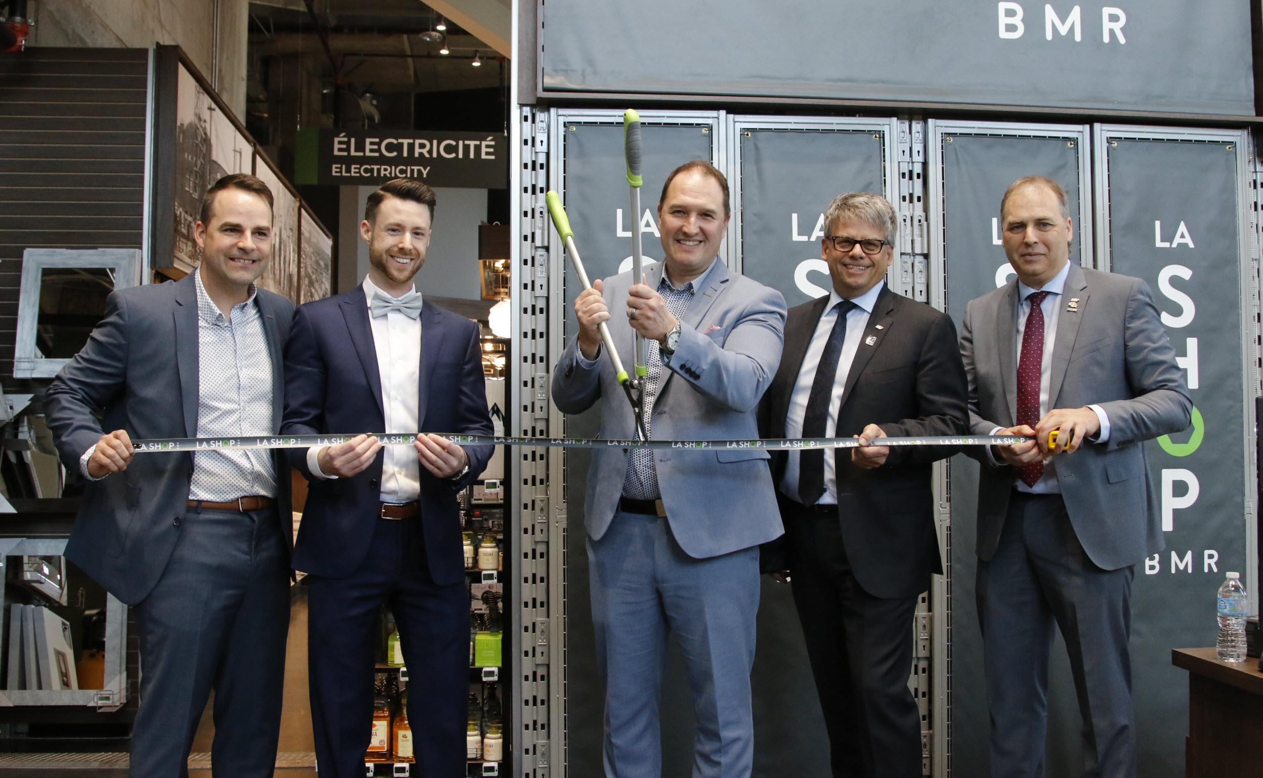 BMR lance une première quincaillerie urbaine