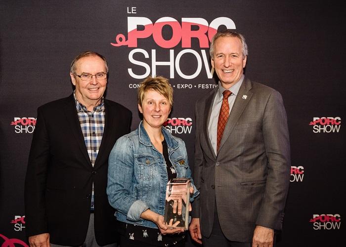 Les Élevages Soden inc. gagnent le Prix de reconnaissance de la filière porcine 2018